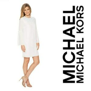 MICHAEL Michael Kors Bell Sleeve Dress